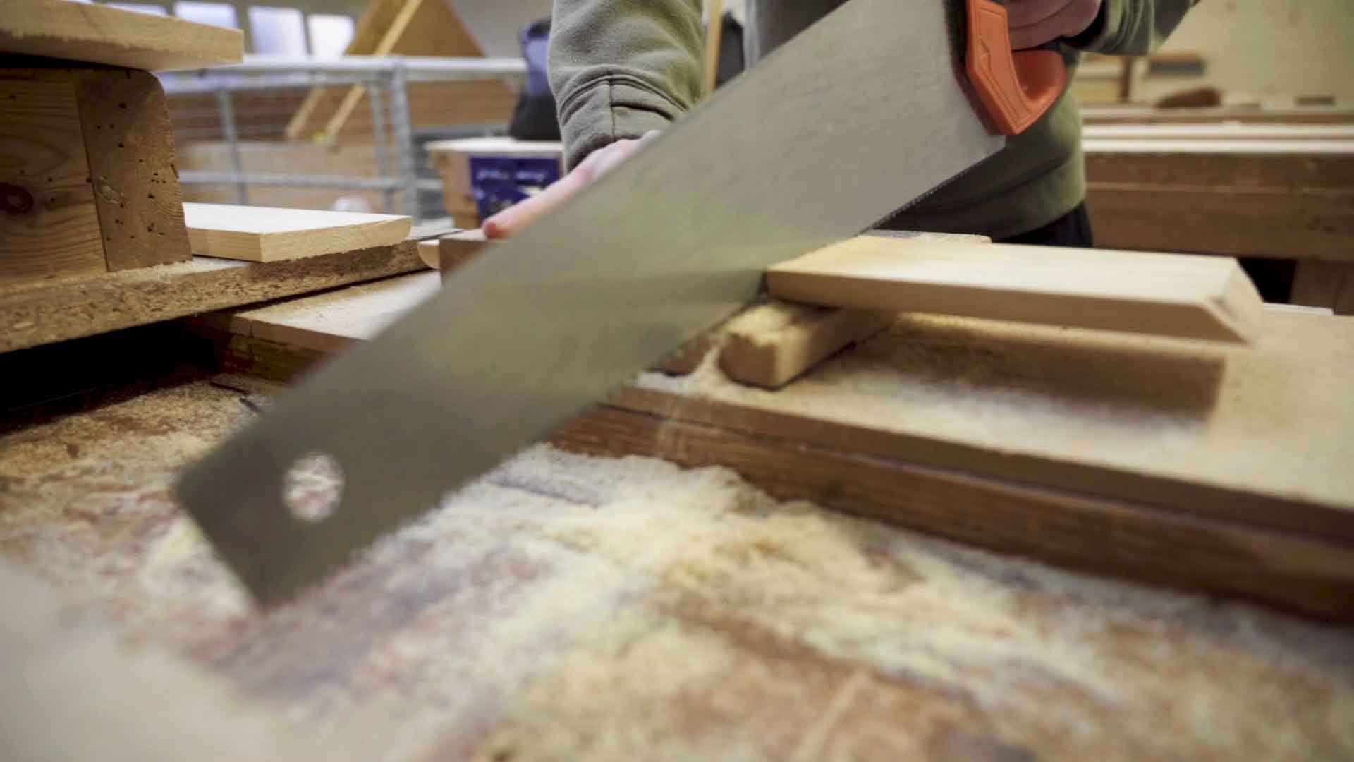 Level 2 Diploma in Carpentry and Joinery and NVQ in Wood Occupations
