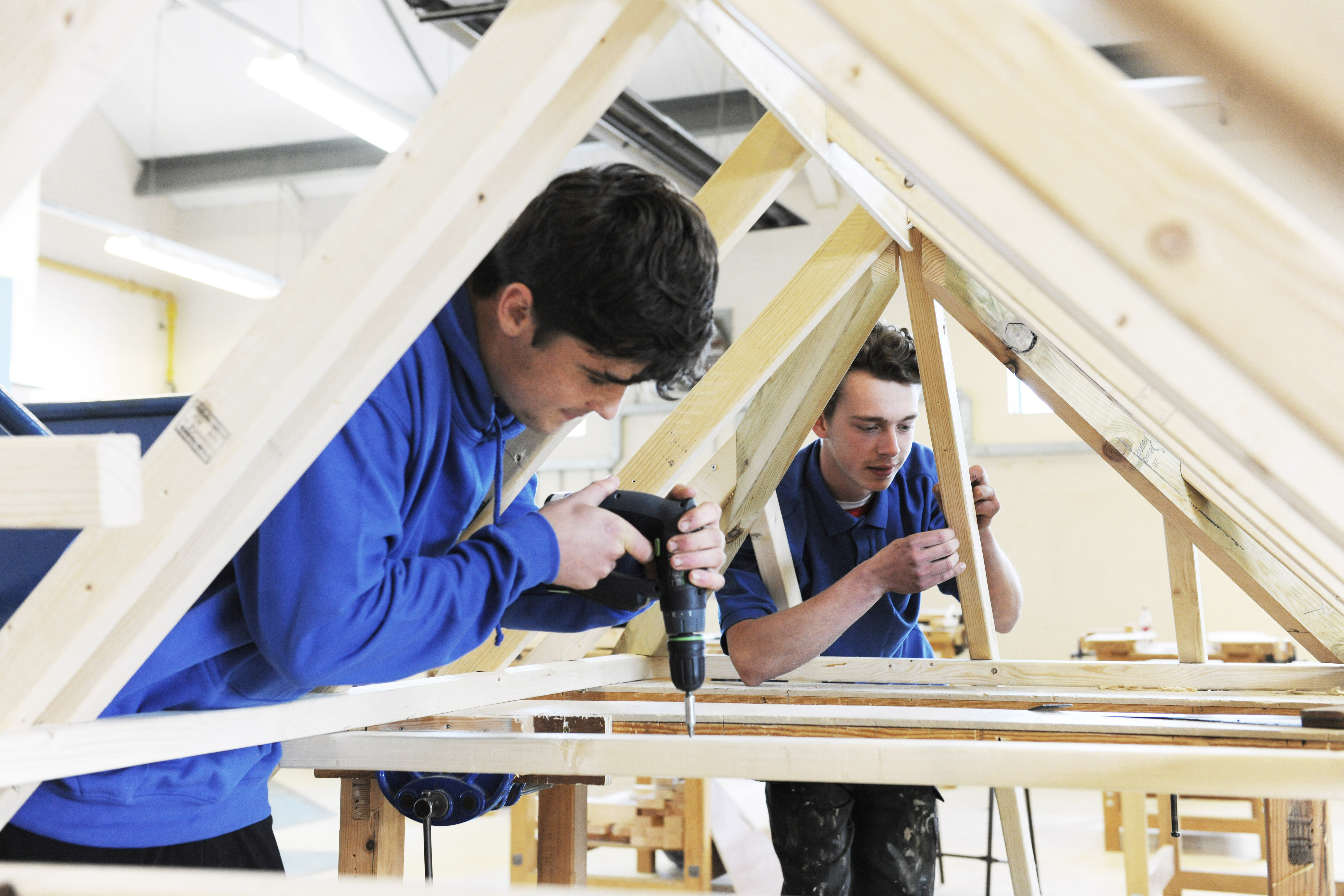 Level 3 Diploma in Carpentry and Joinery and NVQ in Wood Occupations